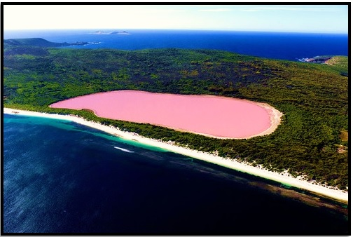 Hillier Gölü, Avustralya