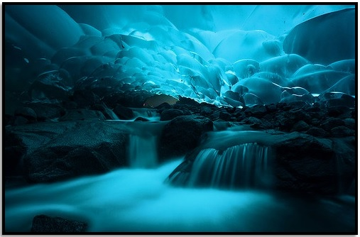 Mendenhall Buz Mağaraları, Juneau, Alaska
