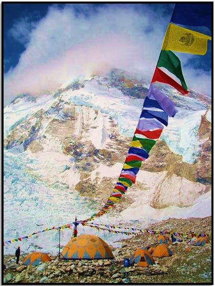 Everest Ana Kampa Tırman