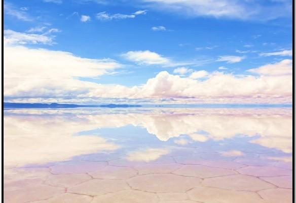 Bolivya'da Salar de Uyuni'de Kendine Bak