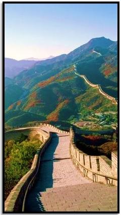 Çin Seddi'nde Yürü