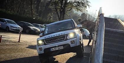 Land Rover ile Ormanlar içinde Adrenalin Dolu Bir Aktivite!