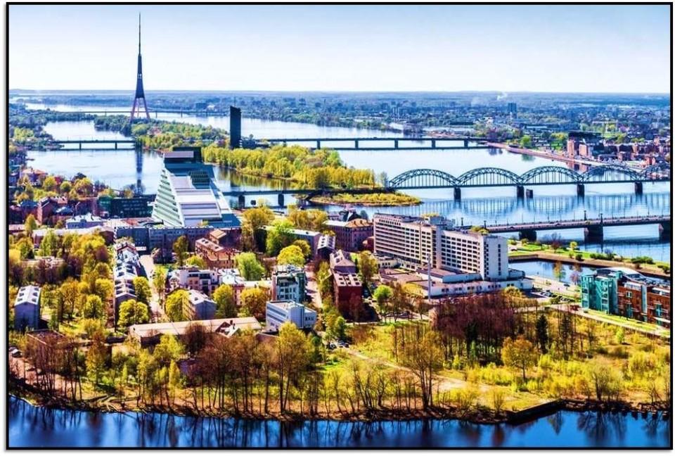 Nasıl Oraya Gidilir? Riga, Letonya