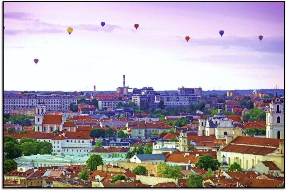 Nasıl Oraya Giderim? Vilnius, Litvanya
