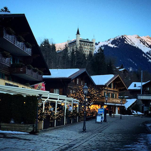 isviçre şehirleri - Gstaad