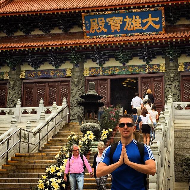 Hong Kong - Po Lin Manastırı
