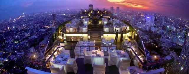 Vertigo and Moon Bar, Bangkok, Tayland