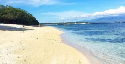 Endonezya - Bali - Gili Adaları - Beyaz Kumsal