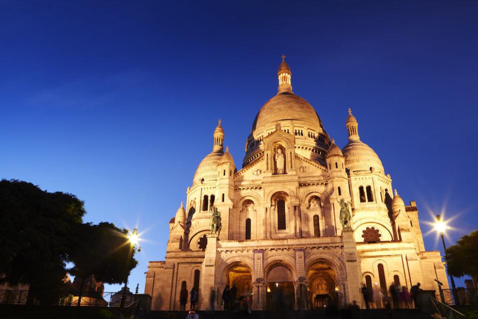 Paris, Romantik bir gece