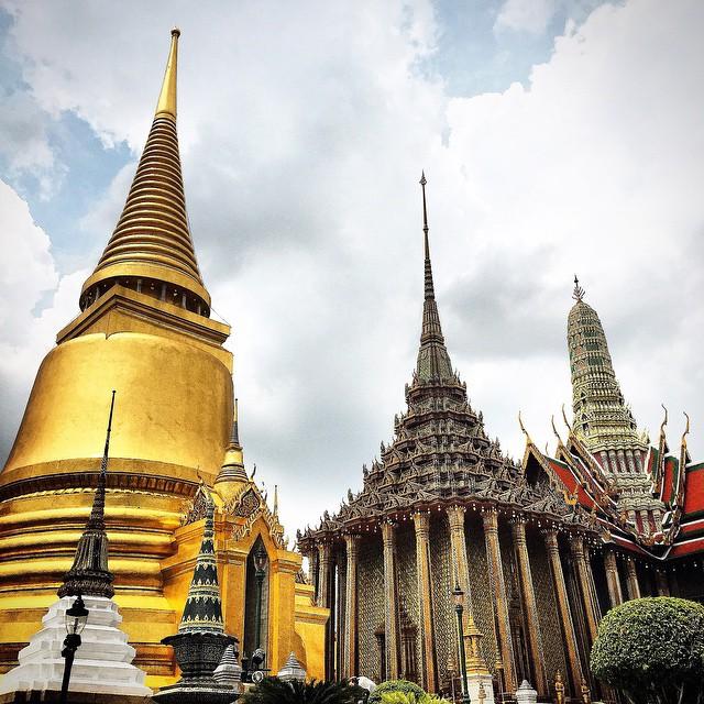 Tayland-Bangkok-Büyük-Saray-Wat-Phra-Kaew-Tapınağı