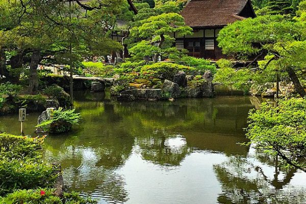 Japonya-Kyoto-Ginkakuji-tapınağı
