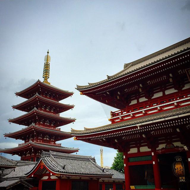 Japonya-Tokyo-Sensoji-Tapınağı