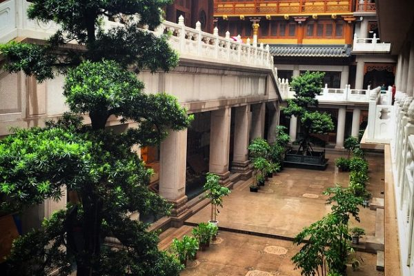 Çin-Şangay-Jingan-Tapınağı