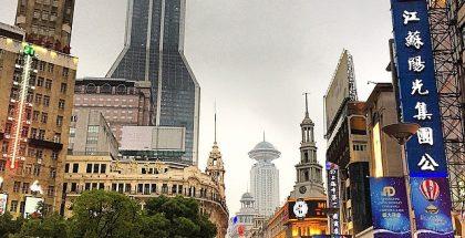 Çin-Şangay-Nanjing-Yolu