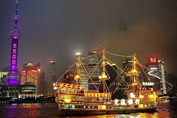 Çin-Şangay-Pearl-Kulesi