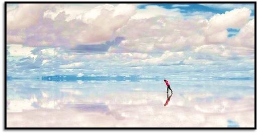 Dünyanın en büyük Aynası, Bolivya