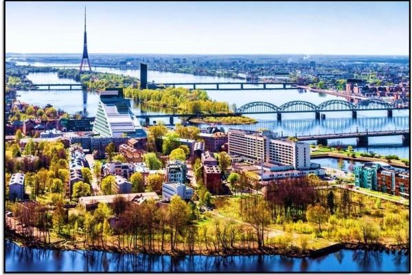 Nasıl Oraya Giderim? Riga, Letonya