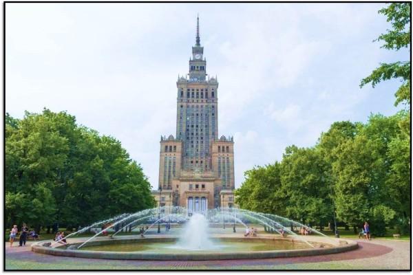 Nasıl Oraya Giderim? Varşova, Polonya