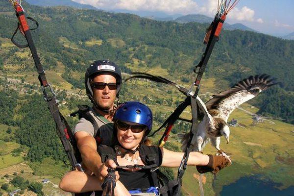 Nepal-Kartal-Uçuşu