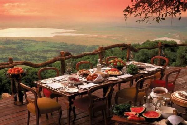 Ngorongoro Crater Lodge, Ngorongoro Conservation Area, Tanzanya