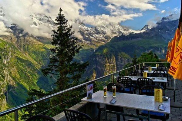 Otel-Edelweiss-Mürren-İsviçre