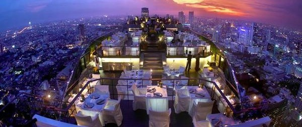 Vertigo and Moon Bar, Bangkok, Tayland