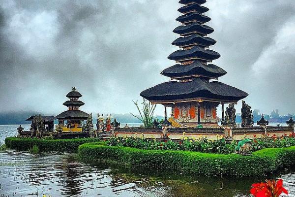 Endonezya - Bali - Pura Ulun Danu Bratan