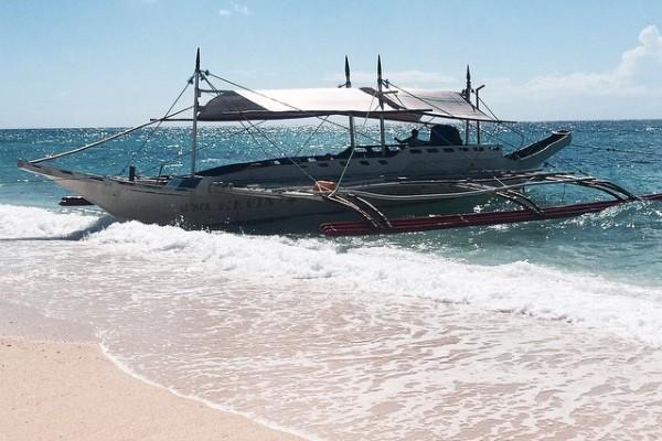 Filipinler - Boracay - Puka Plajı - Paraw