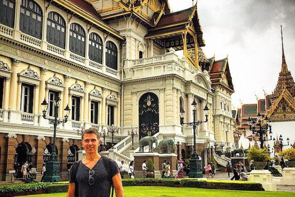 Tayland-Bangkok-Büyük-Saray-Bahçe