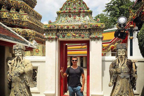 Tayland-Bangkok-Wat-Pho-Tapınağı-Heykeller