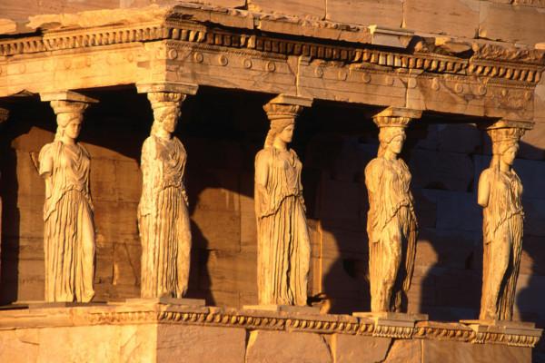 Yunanistan, Akropolis