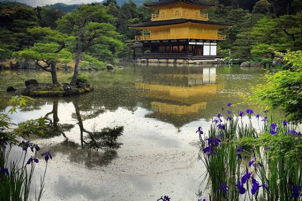 Japonya-Kyoto-Kinkaku-ji-tapınağı