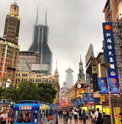 Çin Şehirleri ve Işıltıları- Şangay
